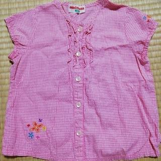 ミキハウス(mikihouse)のmiKiHOUSE 半袖シャツ(Tシャツ/カットソー)