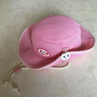 ミキハウス(mikihouse)の☆美品☆ミキハウス UVカット 帽子(帽子)