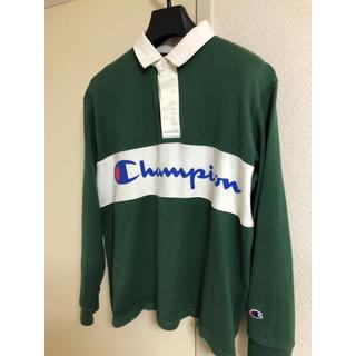 チャンピオン(Champion)のChampion ラガーシャツ グリーン(ポロシャツ)