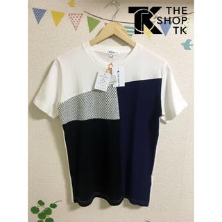 THE SHOP TK - 【未使用】THE SHOP TK 異素材カットソー Tシャツ M