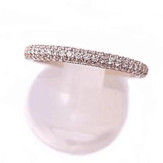 K18ピンクゴールドダイヤ 18金PGダイアモンド0.39ctリング (リング(指輪))