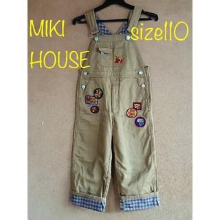 ミキハウス(mikihouse)のお値下げ⬇️ ミキハウス オーバーオール/サロペット 110(パンツ/スパッツ)