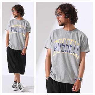 nano・universe - 新品 ナノユニバース RUSSELL リメイク Tシャツ 定価6048円 M