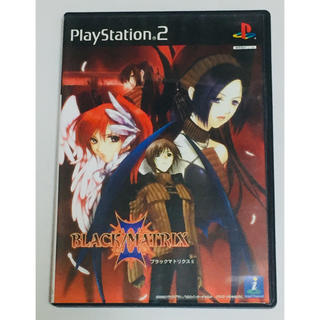 プレイステーション2(PlayStation2)のPS2 ブラックマトリクス2(家庭用ゲームソフト)