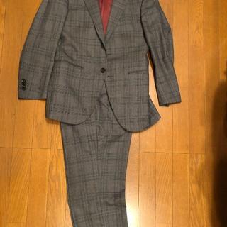Ralph Lauren - 麻布テイラー スーツ セットアップ グレー