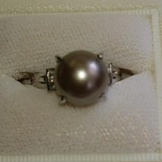 黒蝶真珠(リング(指輪))