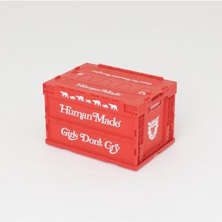 シュプリーム(Supreme)のhumanmade girlsdon'tcry contaner red(置物)