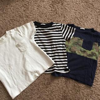 GU - GU 120Tシャツ3枚SET