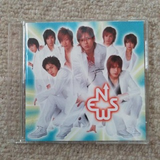 ニュース(NEWS)のNEWS 紅く燃ゆる太陽 ステッカー付 シングルCD(ポップス/ロック(邦楽))