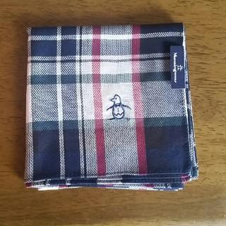 マンシングウェア(Munsingwear)のマンシング メンズ ハンカチ(新品)(ハンカチ/ポケットチーフ)
