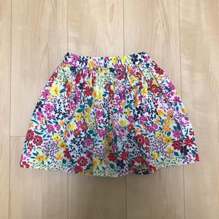 GLOBAL WORK - 花柄ギャザースカート
