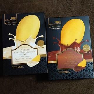 新品 ドライマンゴー チョコレート 2箱セット(菓子/デザート)