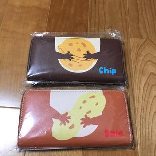 チップアンドデール(チップ&デール)のチップとデール^_^。ロングウォレット2個組み(キャラクターグッズ)