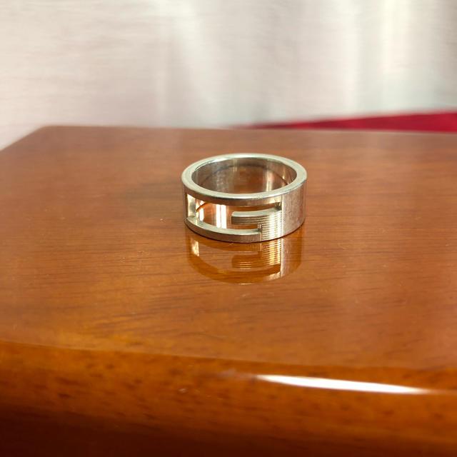Gucci(グッチ)のSV925 GUCCI グッチ Gロゴ リング 正規品 メンズのアクセサリー(リング(指輪))の商品写真