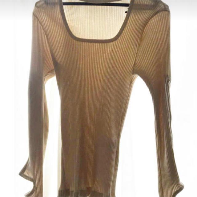 TOGA(トーガ)のToga リブロンティ レディースのトップス(Tシャツ(長袖/七分))の商品写真