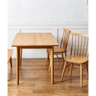ウニコ(unico)のくろちぃ☆様専用❗️モモナチュラル 木製テーブル(ダイニングテーブル)