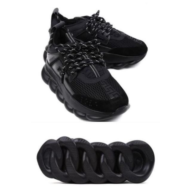 VERSACE(ヴェルサーチ)のVERSACE Chain Reaction スニーカー43 ヴェルサーチ メンズの靴/シューズ(スニーカー)の商品写真