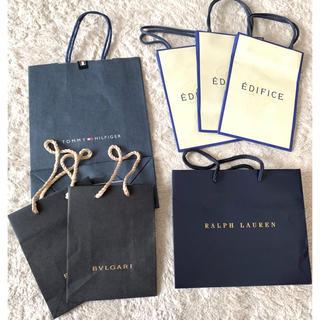 ラルフローレン(Ralph Lauren)のショッパー まとめ売り ブランド紙袋 7点(ショップ袋)