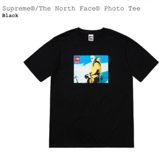 Supreme - Supreme The North Face Photo Tee Black M