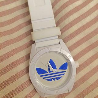 アディダス(adidas)のAdidas ホワイト色時計(腕時計)