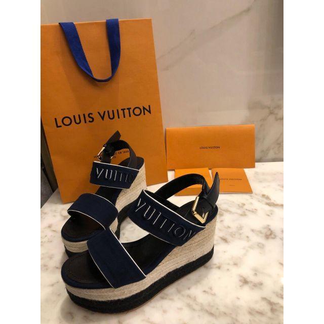 LOUIS VUITTON(ルイヴィトン)のルイヴィトン サンダル 厚底靴 レディース レディースの靴/シューズ(サンダル)の商品写真