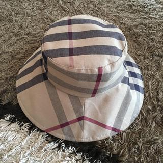 バーバリー(BURBERRY)のバーバリー   ハット 帽子M タグあり(ハット)