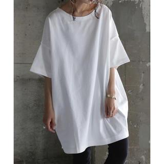 アンティカ(antiqua)のantiqua バスクTシャツ(Tシャツ(半袖/袖なし))