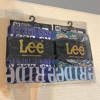 リー(Lee)のLee ボクサーパンツ M 総柄 メンズ(ボクサーパンツ)
