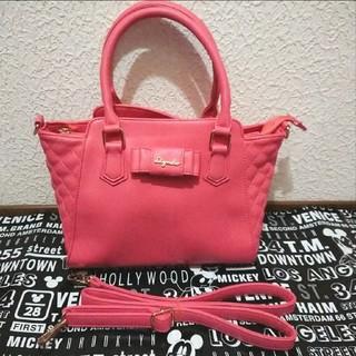 シマムラ(しまむら)の美品 しまむらリズメロ キルティング風 ショルダーバッグ♥️マイメロディ ピンク(ショルダーバッグ)