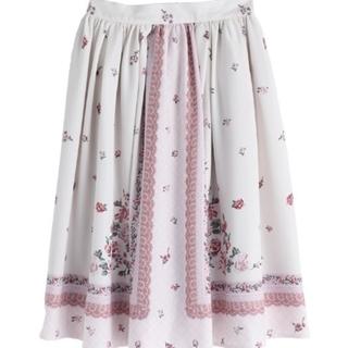 axes femme - axesfemmeローズナンバースカート