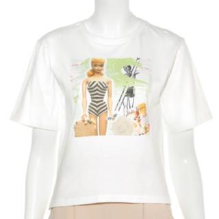 リリーブラウン(Lily Brown)の新品 LilyBrown バービー Tシャツ(Tシャツ(半袖/袖なし))