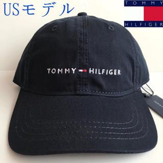 TOMMY HILFIGER - レア 新品 TOMMY HILFIGER USA キャップ 帽子 ネイビー