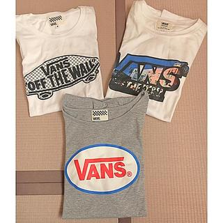 ヴァンズ(VANS)の【美品】vansレディース Tシャツ3枚セット(Tシャツ(半袖/袖なし))