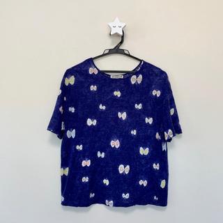 ミナペルホネン(mina perhonen)のミナペルホネン✳︎hanahane Tシャツ 36 mina カットソー(Tシャツ(半袖/袖なし))