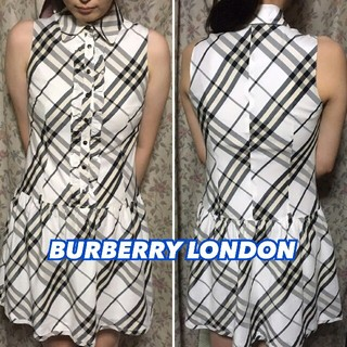 BURBERRY - *BURBERRY LONDON*ノースリーブワンピース*S*バーバリー