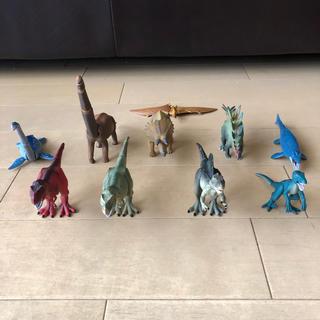 Takara Tomy - アニア ティラノサウルス(赤)、ティラノサウルス(緑)、スピノサウルス他