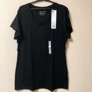 GU - 新品タグ付 GU 大きいサイズ XL クルーネックTシャツ