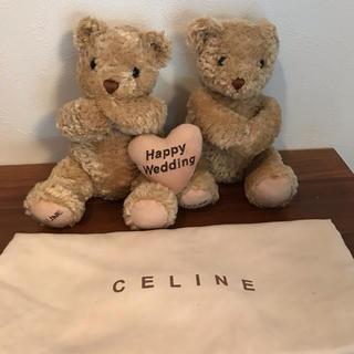 セリーヌ(celine)の結婚式に!セリーヌのウェディングテディベア(ぬいぐるみ)