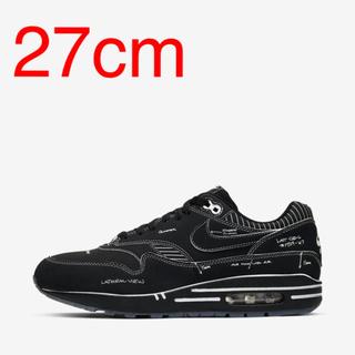 NIKE - 【27cm】送料無料 ナイキ エアマックス1 スケッチ 黒 ブラック BLACK