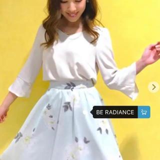 BE RADIANCE - サラッとした生地感が涼しげ♡ビーラディエンス花柄スカート