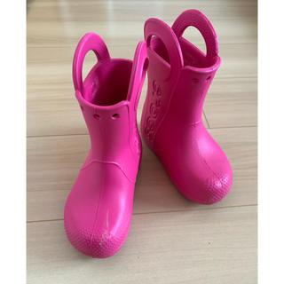 クロックス(crocs)のクロックス レインブーツ C9(長靴/レインシューズ)