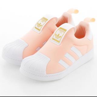 adidas - アディダス スーパースター ピンク  19センチ