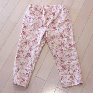 GU - GU 花柄パンツ 130