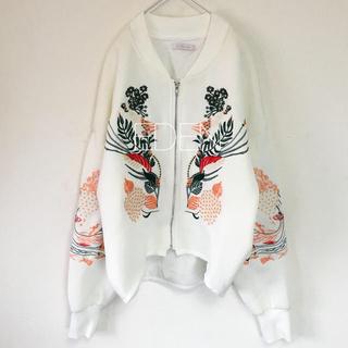 TOGA - 刺繍ブルゾン
