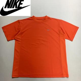 NIKE - NIKE ナイキ DRI-FIT ロゴ Tシャツ オレンジ Lサイズ