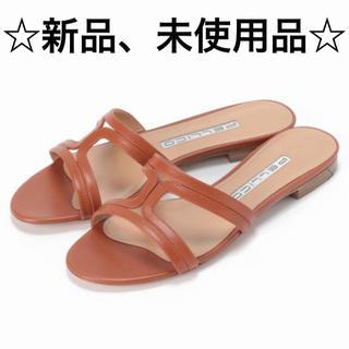 ペリーコ(PELLICO)の☆新品、未使用品☆ ペリーコ フラットサンダル サイズ37(サンダル)