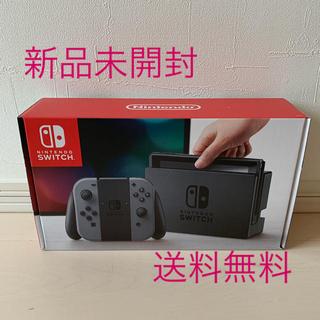 ニンテンドースイッチ(Nintendo Switch)のニンテンドースイッチ 本体 新品  Joy-Con グレー(携帯用ゲーム本体)