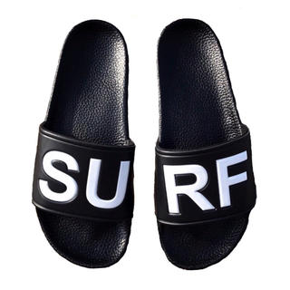 ロンハーマン(Ron Herman)の海コーデ☆LUSSO SURF シャワーサンダル  黒42☆ベナッシ ルーカ(サンダル)