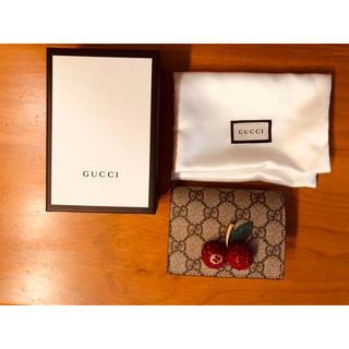 Gucci - グッチ GUCCI 財布 さくらんぼ