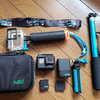 GoPro - GoPro hero7 black 付属品充実!